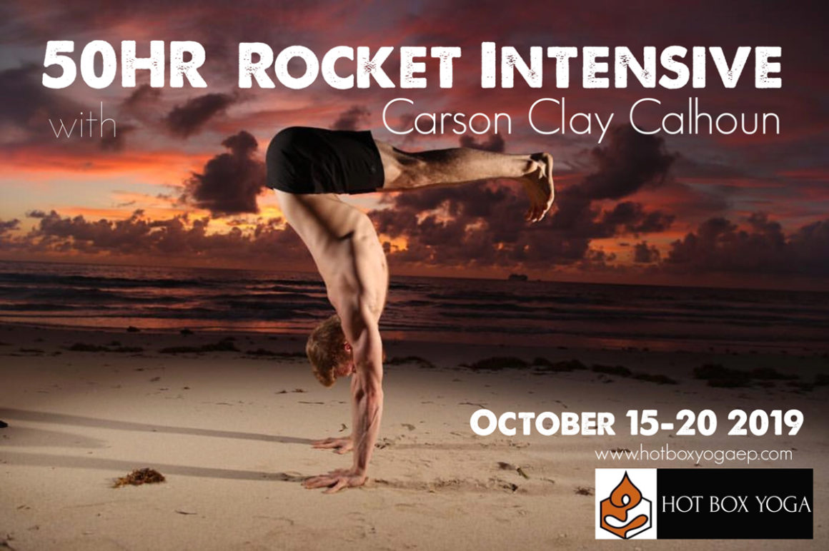 50-Hour Rocket Yoga Training with Carson